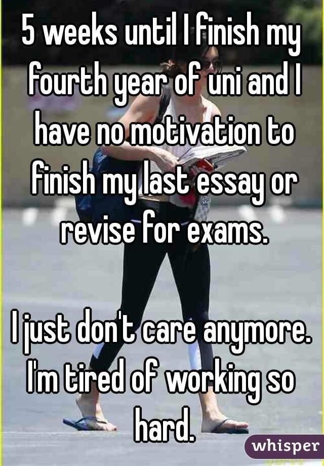 Finish my essay