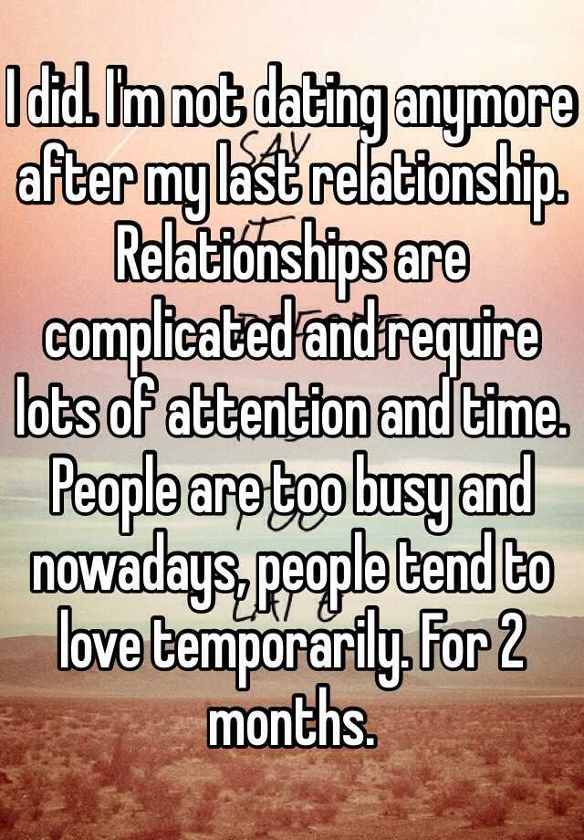 just dating vs relationship