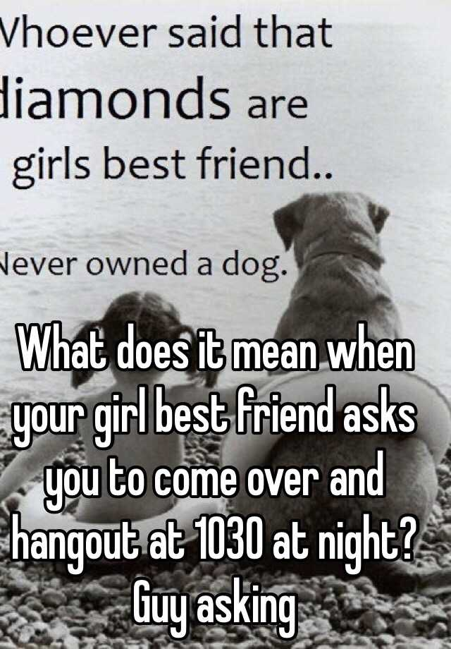 What does mean dating with girl
