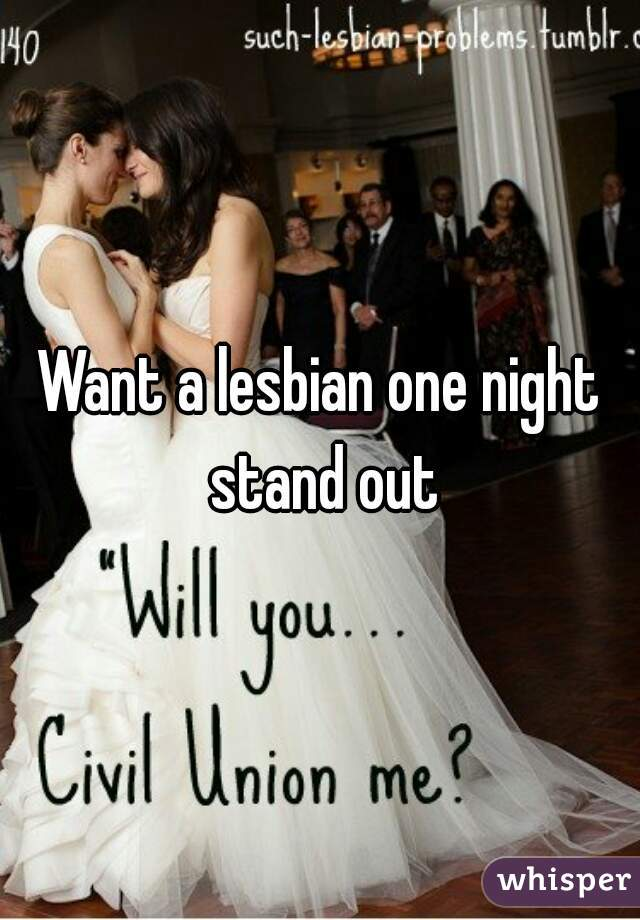 Lesbian one night stand