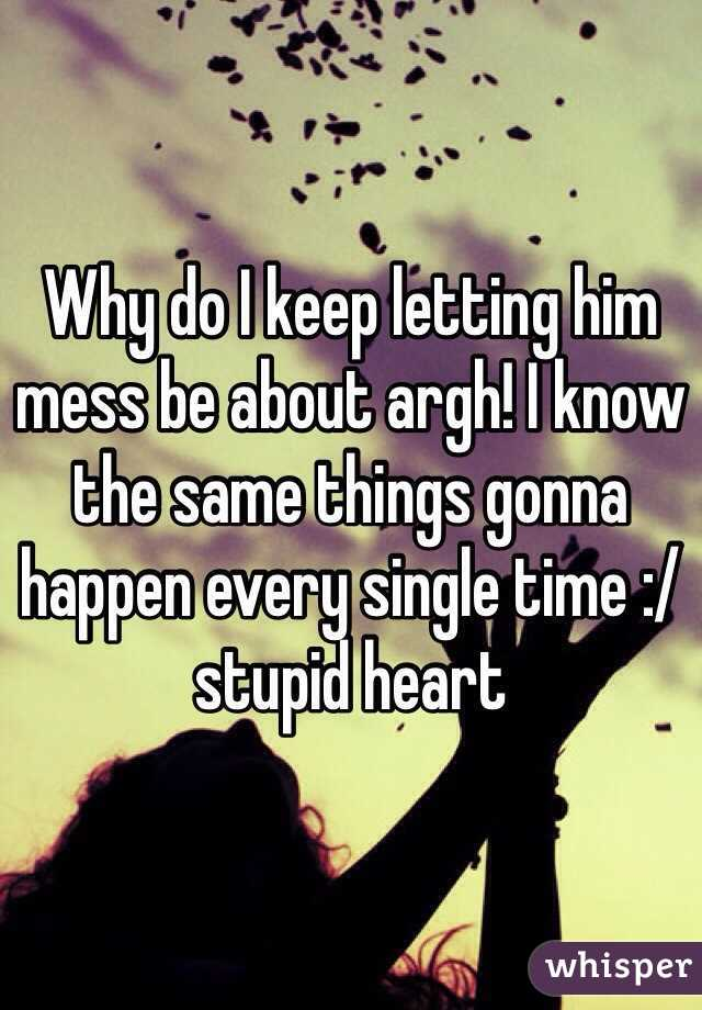 Why do things go wrong for me all the time?