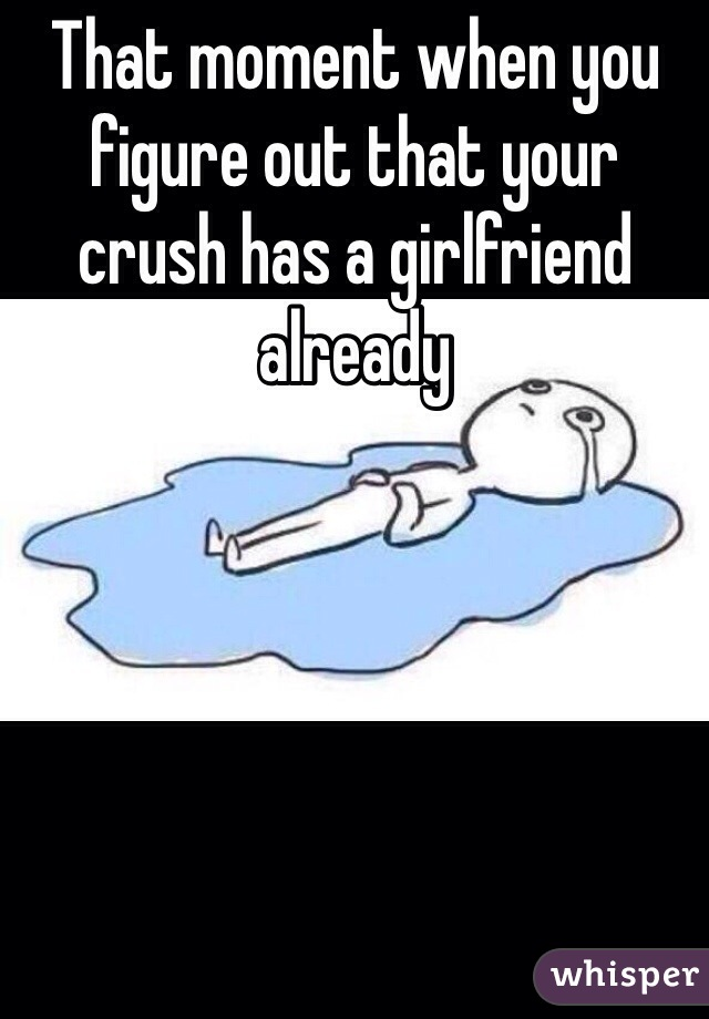 The girl you hate dating your crush