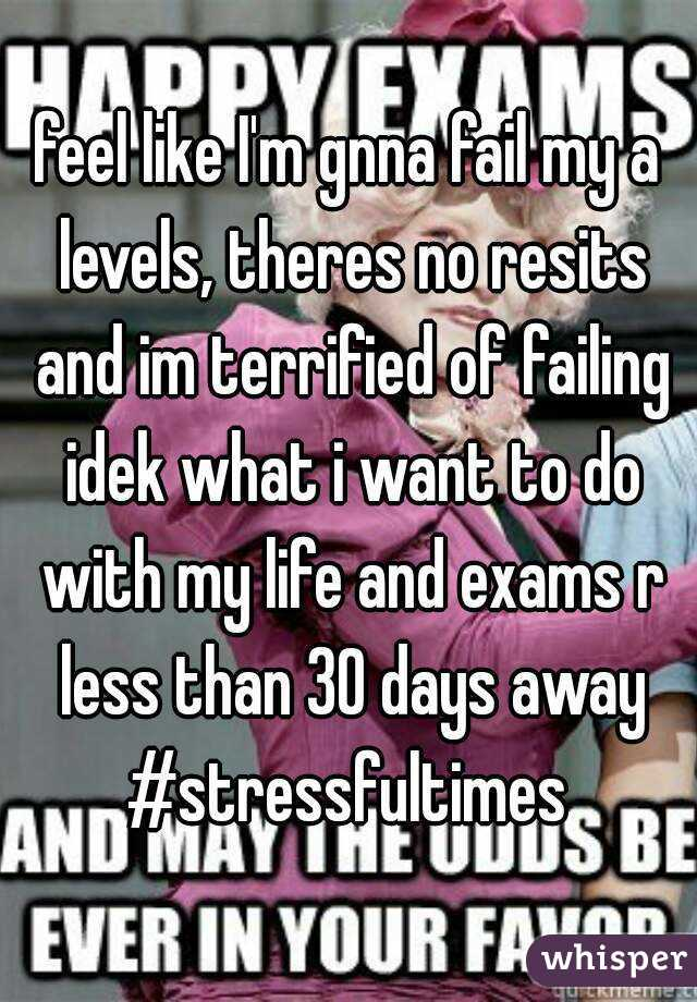 Dnt wnt 2 resit in college!?