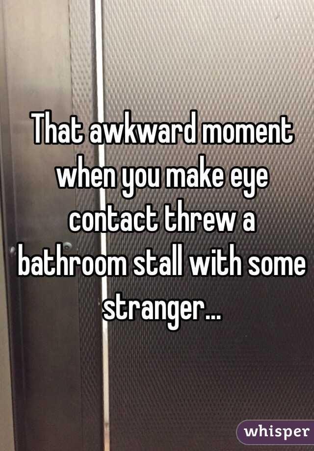 Endearing 90 Bathroom Stall Awkward Decorating Inspiration Of Awkward Bathroom Stall Crack