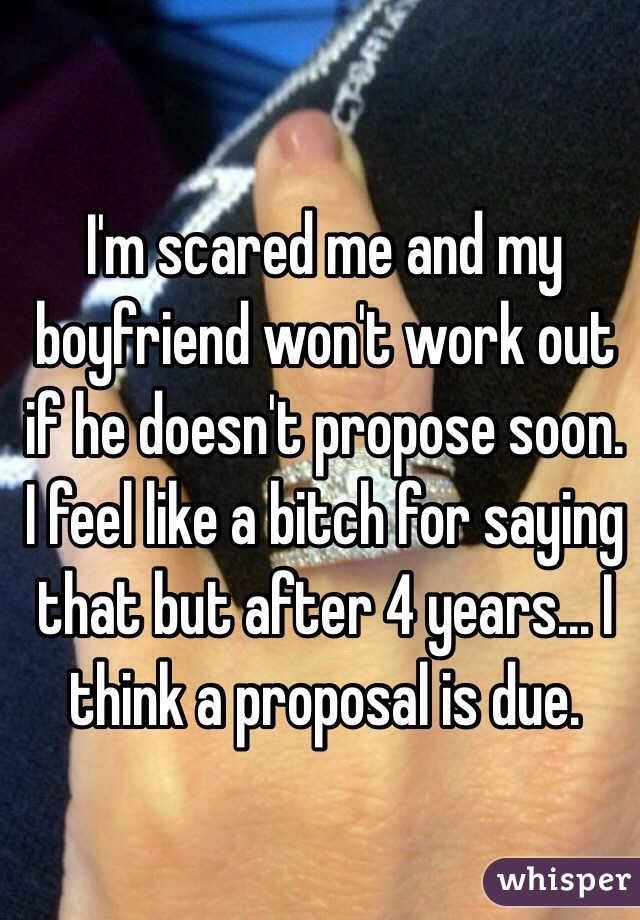 Why Won't My Boyfriend Propose? 3