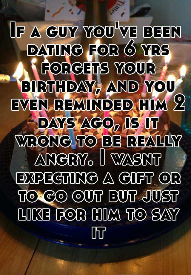 Birthday Gifts For Someone Your Dating