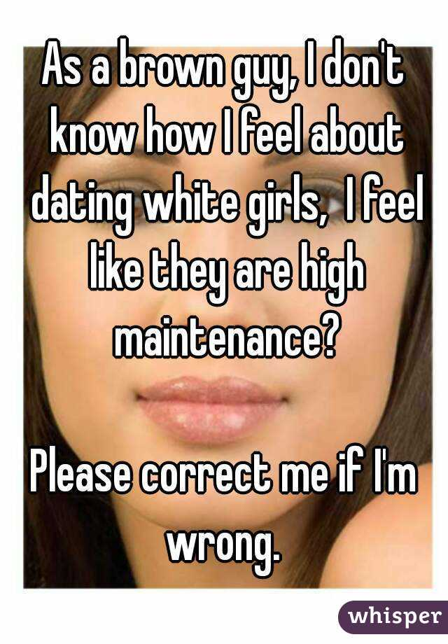 what to know when dating a white girl