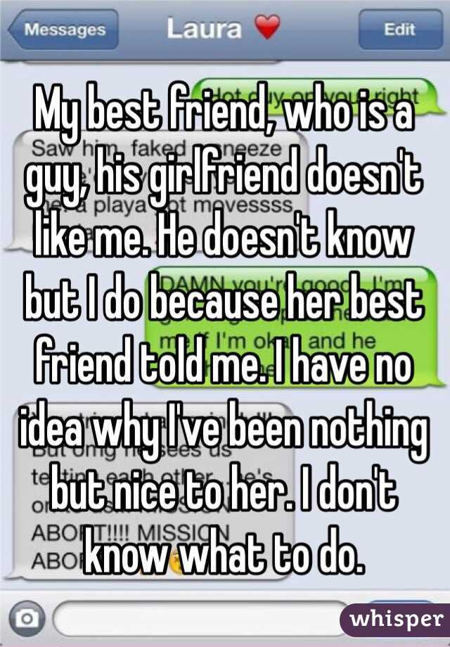 Liking Best Guy Friend my Best Friend Who is a Guy