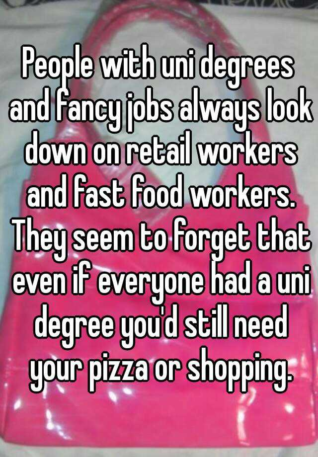 Scary Confessions From Fast Food Workers