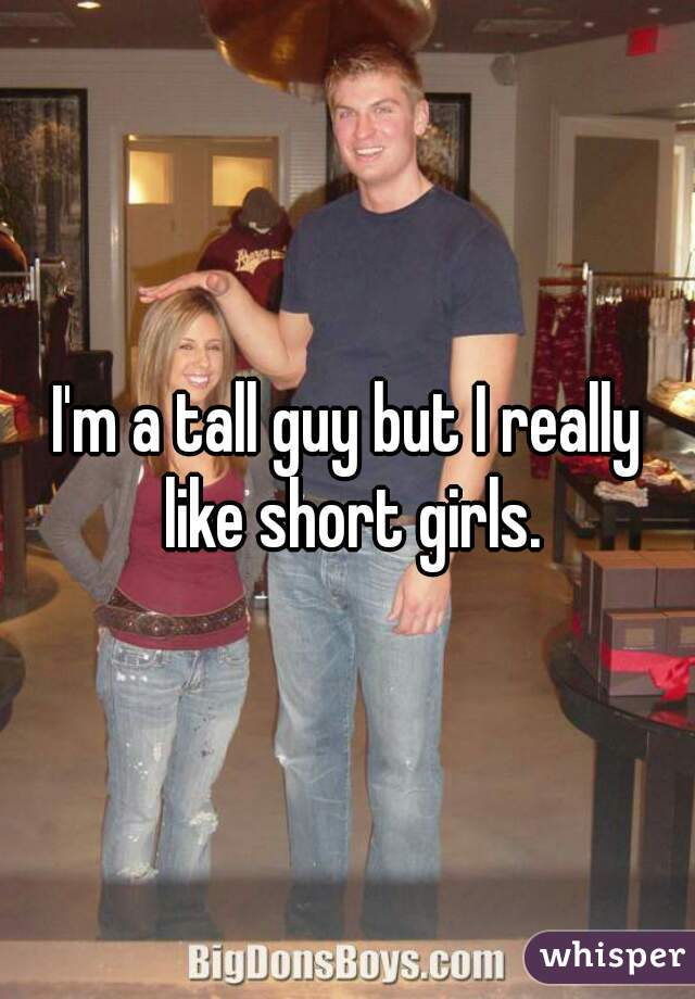 Tall guy dating really short girl