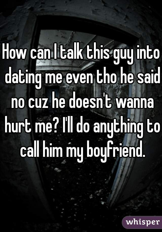 Dating he doesn't call