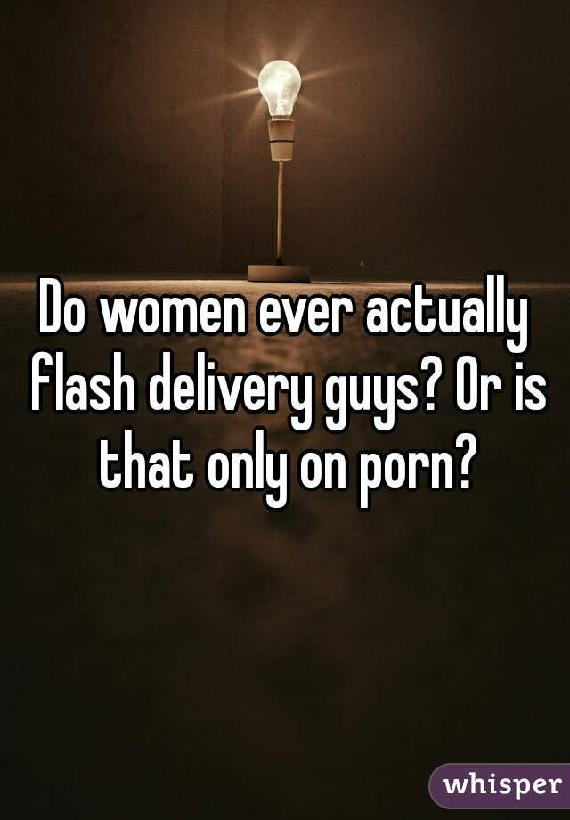 delivery flash