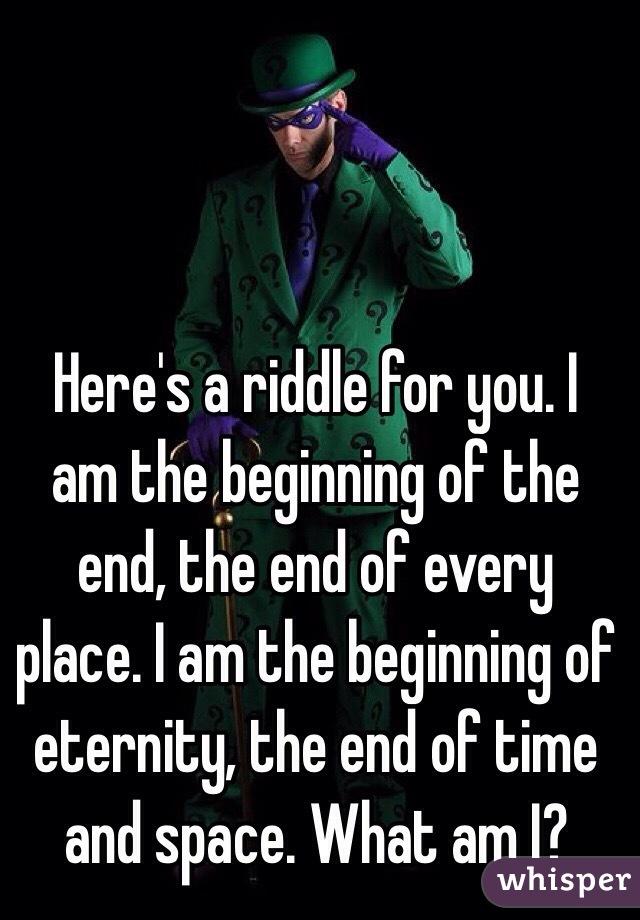 The Letter E Riddle | Gplusnick  Riddle E – Plei  Riddle E