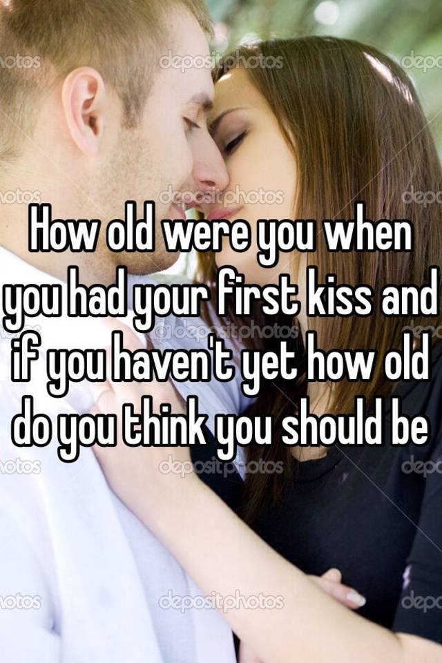 When should you start kissing