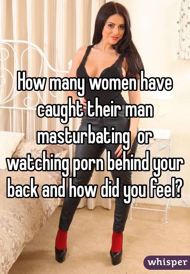 women masturbating watching porn
