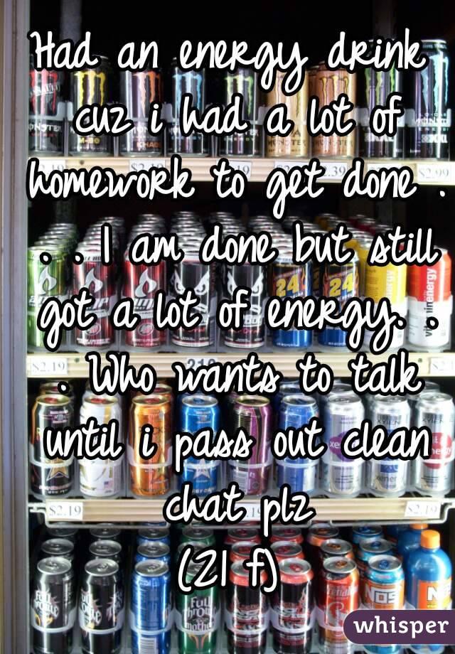 argumentative essay stimulant drinks