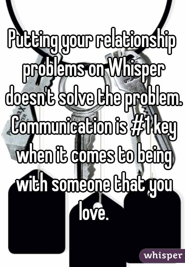 How to solve problems in relationships