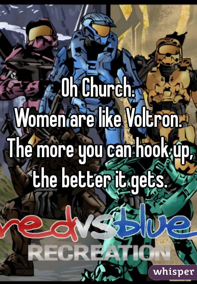 from Erik hook up at church