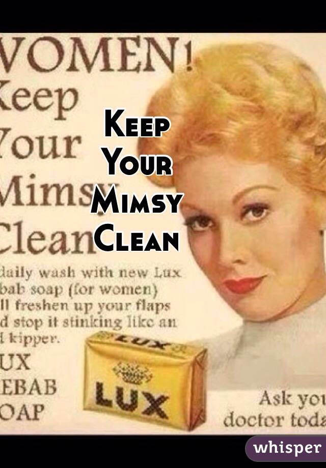 Keep Your Life On Track All Year Long: Keep Your Mimsy Clean