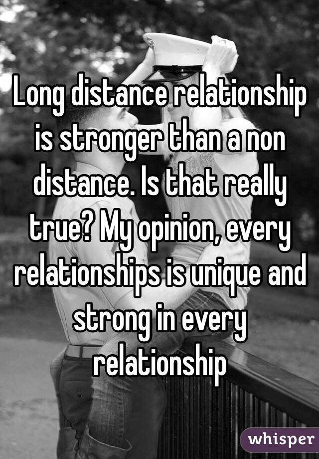 how to keep a long distance relationship strong