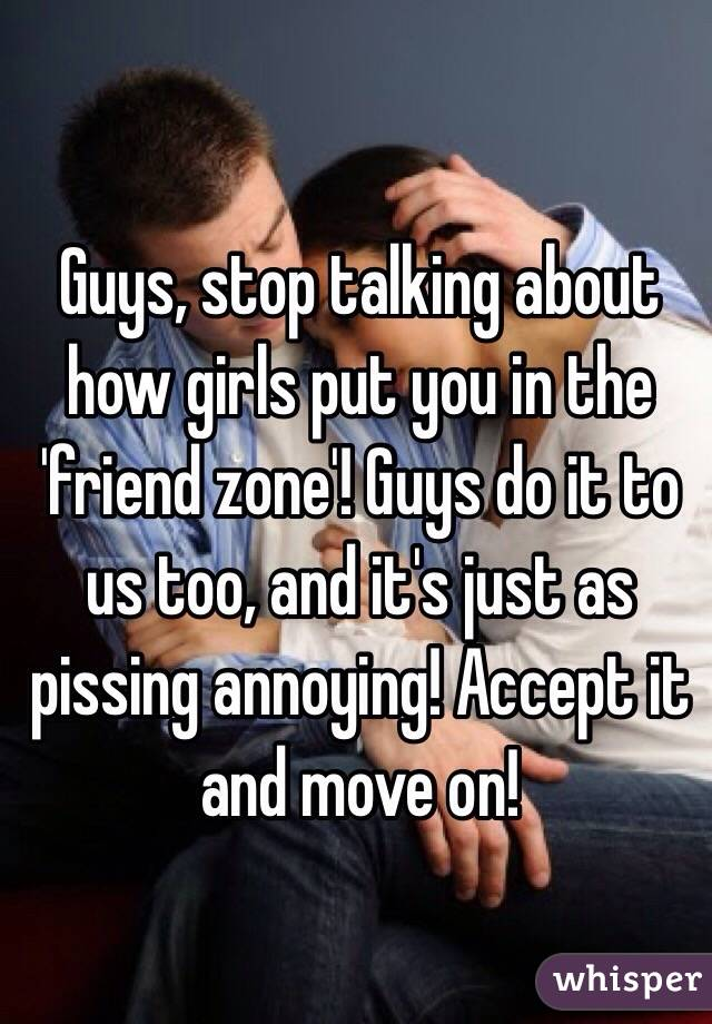 How To Put A Girl In The Friend Zone