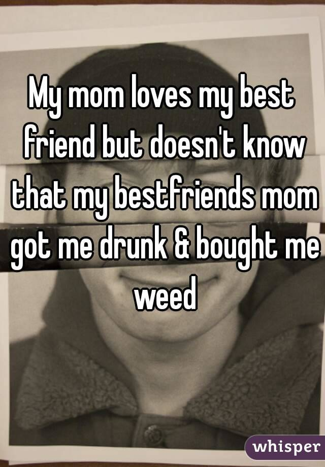 Best friends mom doesn't like me?
