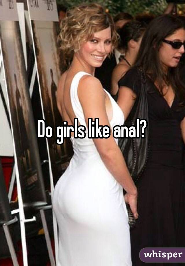 girls that like anal
