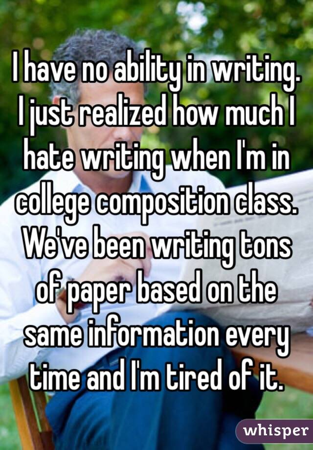 i hate writing research papers I hate writing research papers - fast and reliable services from industry top company no fails with our top writing services allow us to help with your bachelor or.