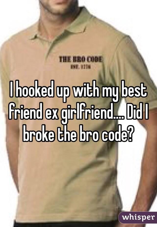 My ex girlfriend is hookup my best friend
