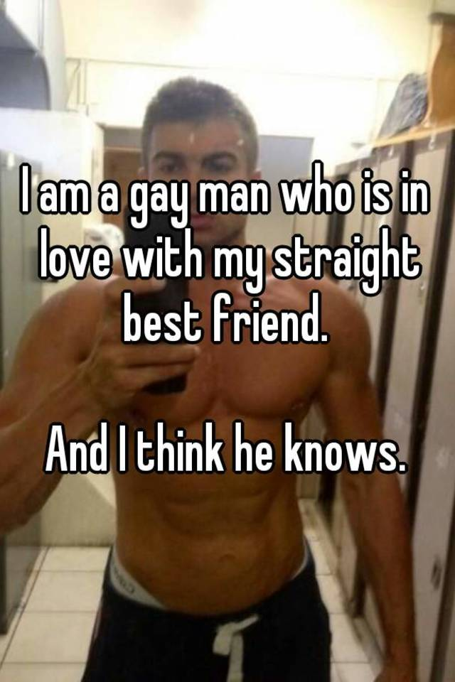 gay if man straight thought wrong