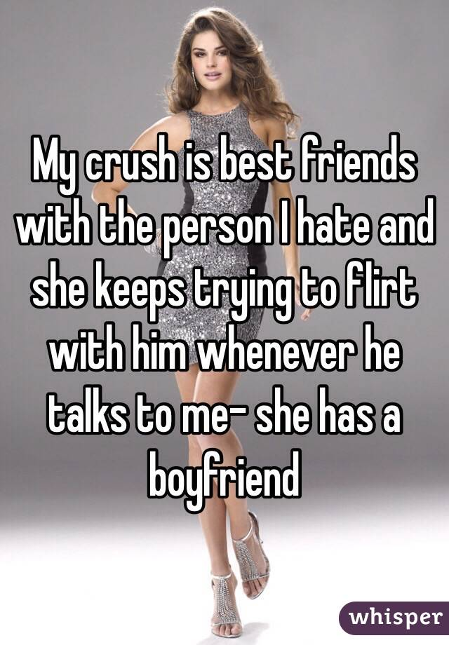 friends boyfriend flirts with me How do i find out if a guy is a player and only wants to have sex with you plenty of my friends have said i should tell his mrs my boyfriend flirts with his.