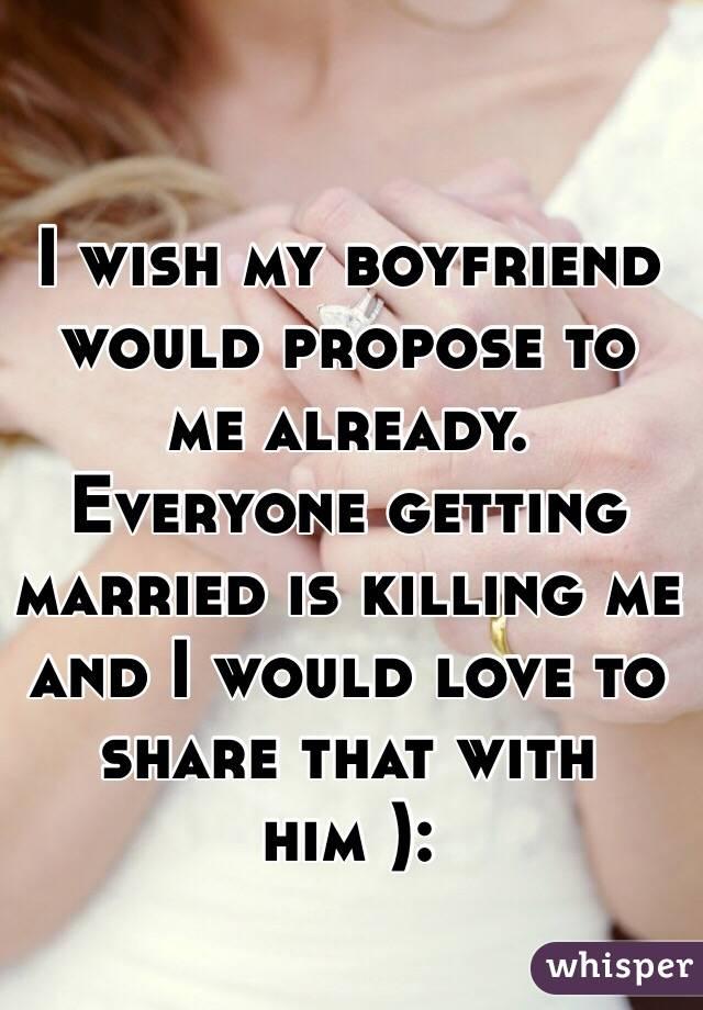 Why My Boyfriend Propose To Me Already? 1