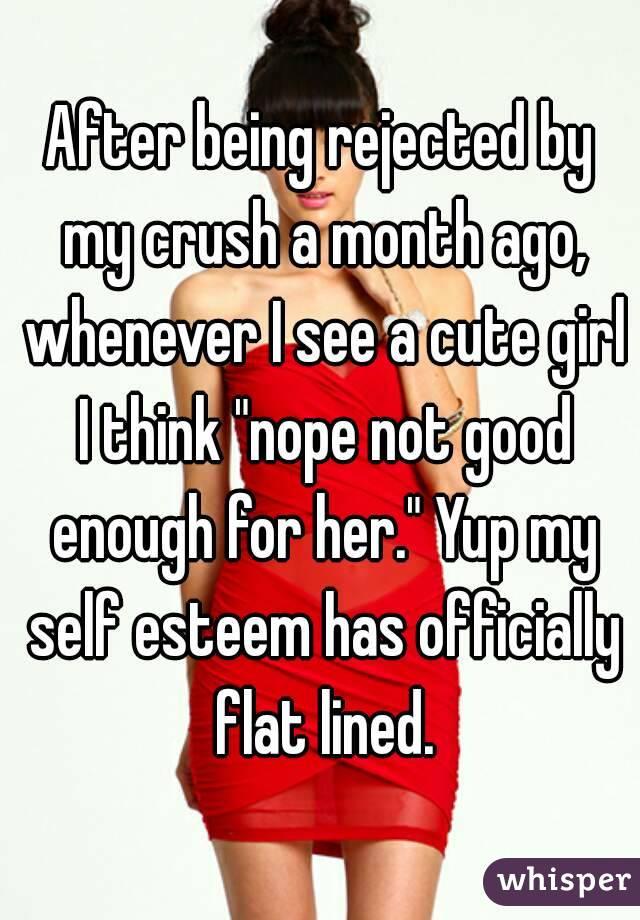crush girls self esteem