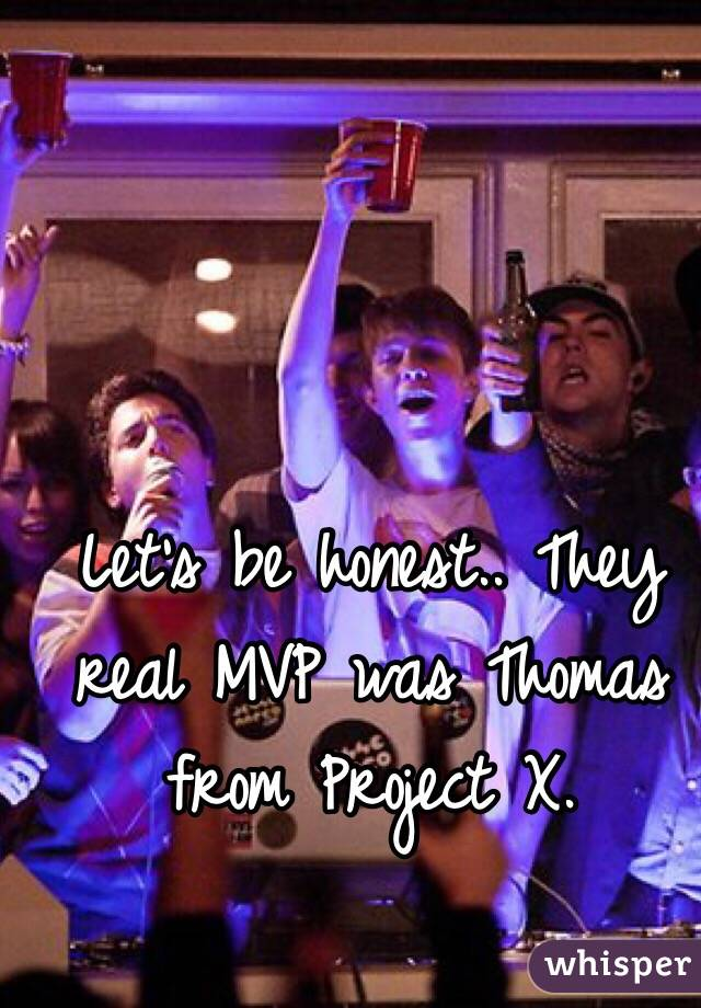 Thomas Project x Real Story They Real Mvp Was Thomas From