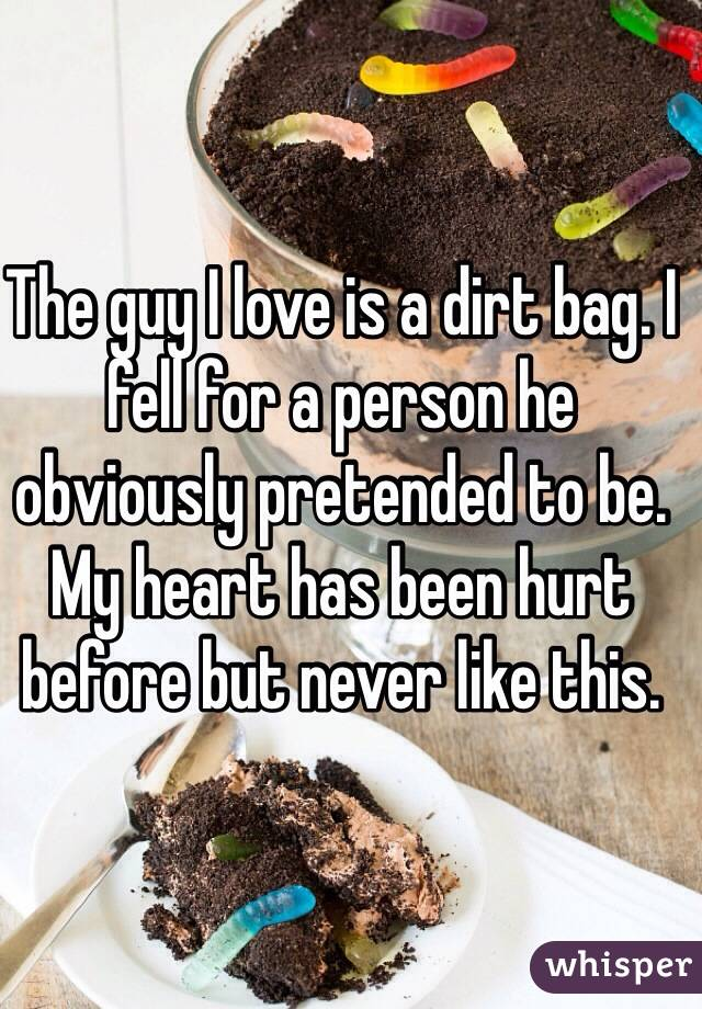 Dating a man who has been hurt before