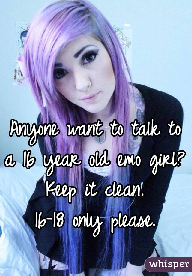 How to talk to an emo girl