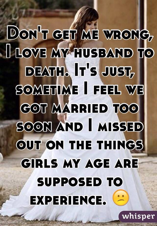 Dating after spouse death too soon
