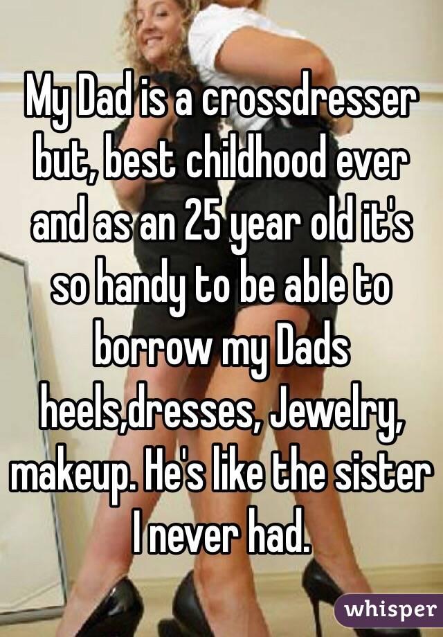 Crossdresser Dad