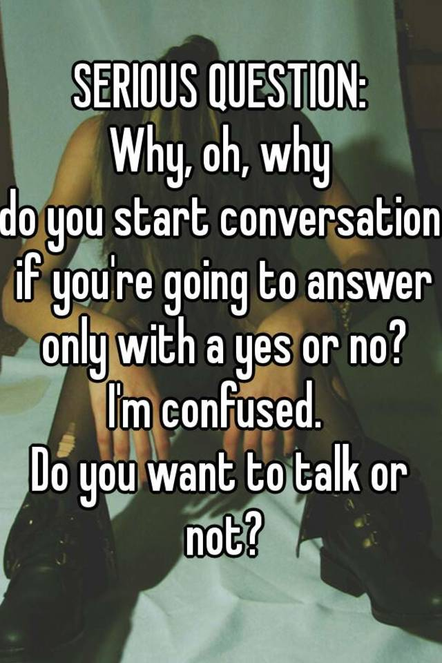 Hip question to start online dating conversation