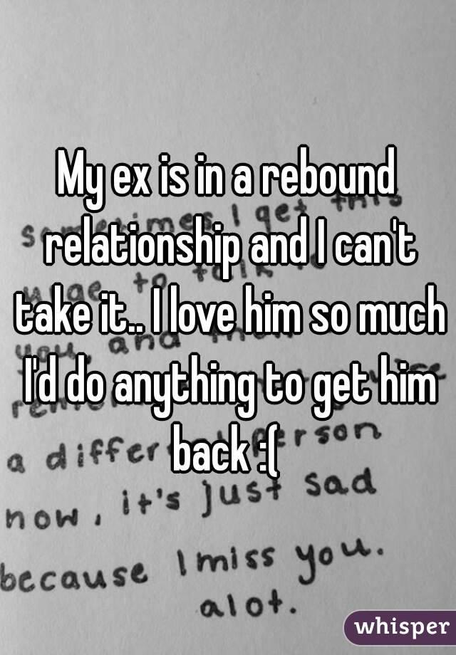 Why do rebound relationships feel like love