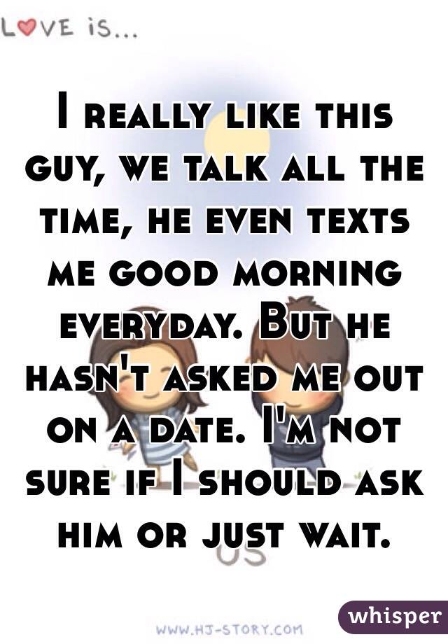when to ask are we dating