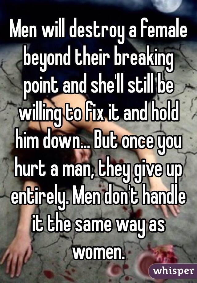Fix Auto Anchorage >> You love someone and let them in but then they just hurt ...