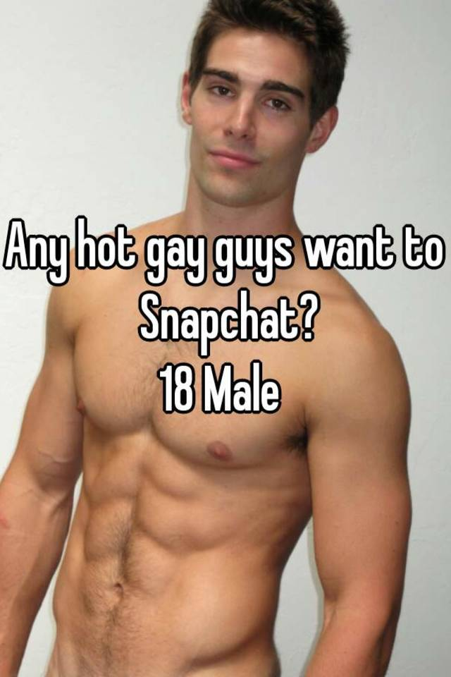Gay hot guys