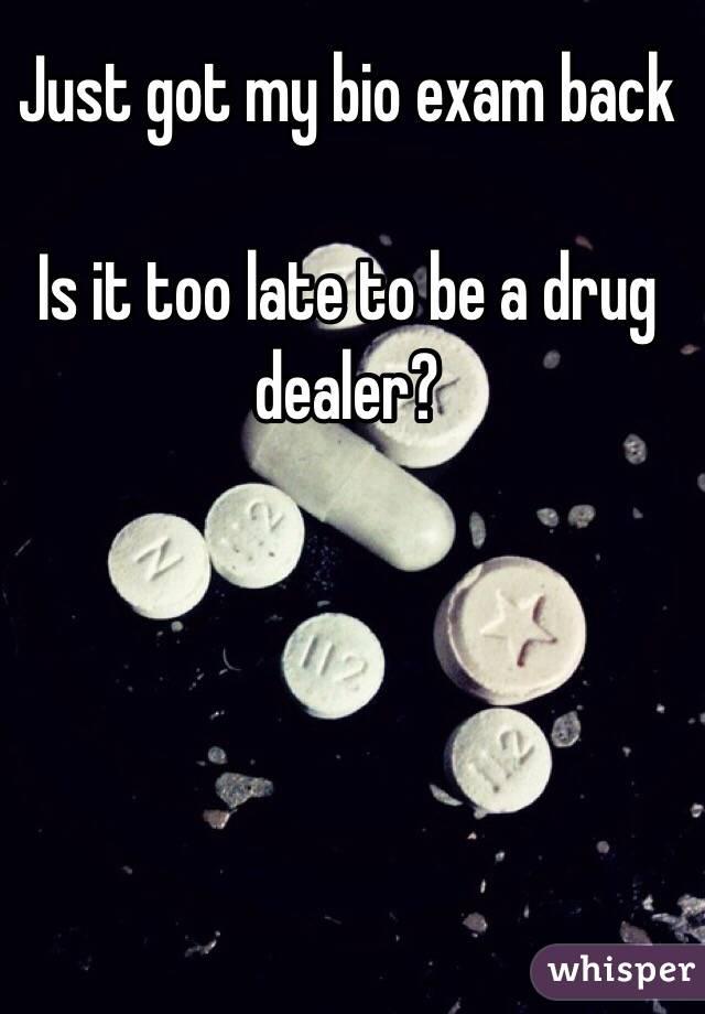My best friend is dating a drug dealer