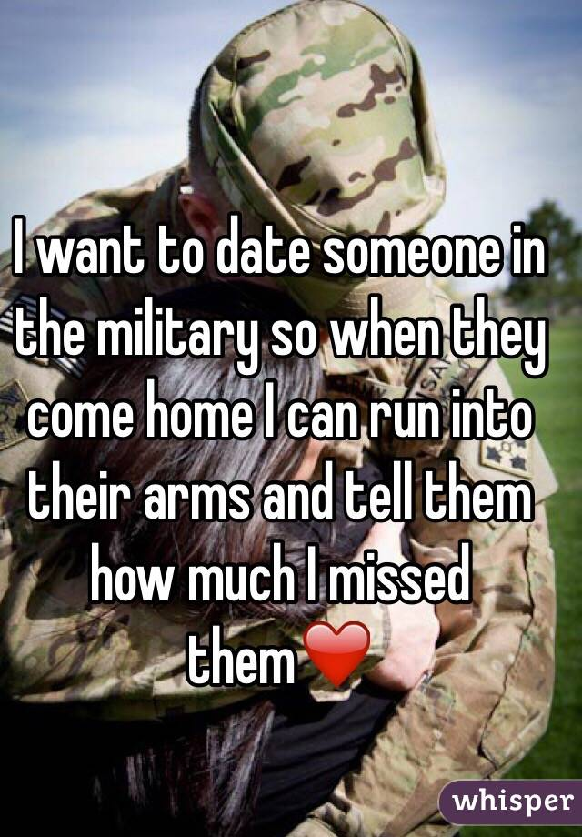 How to date someone in the military
