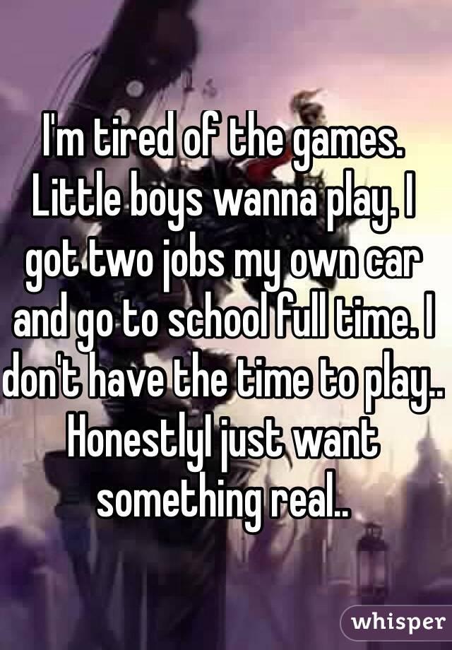 i Got Two Jobs i Got Two