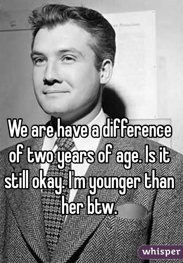 dating someone 4 years younger