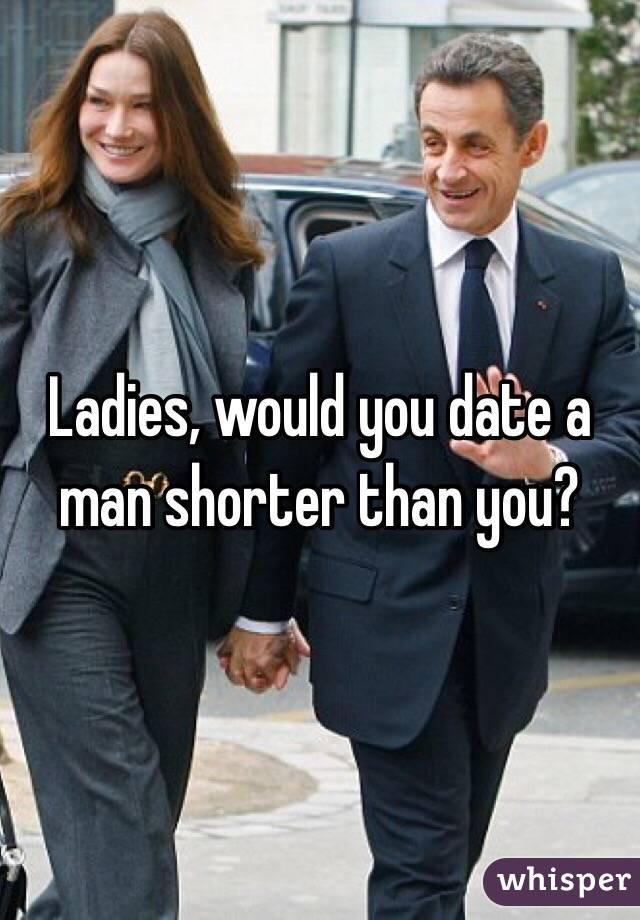 Dating a man smaller than you