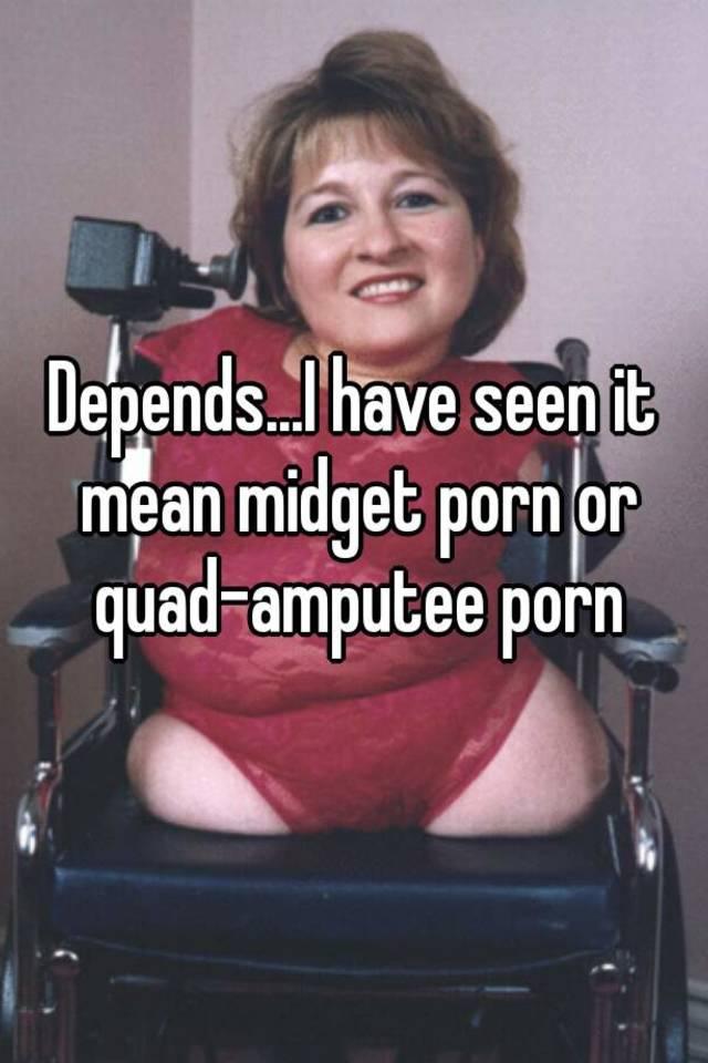 Quelle quad Amputee porn