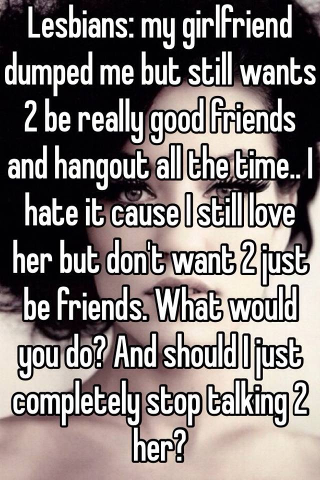 Dating but just want to be friends